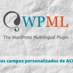 Advanced custom field multilingual