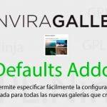 Envira Gallery Defaults