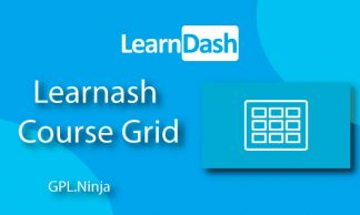 Plugin Learndash course grid