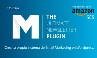 Descargar mailster para Wordpress y Amazon SAS