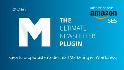 Descargar mailster para Wordpress y Amazon SAS