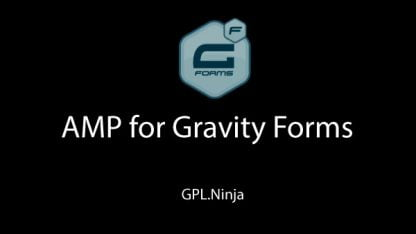 Plugin AMP for Gravity Forms