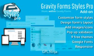 Plugin Gravity Forms Styles Pro