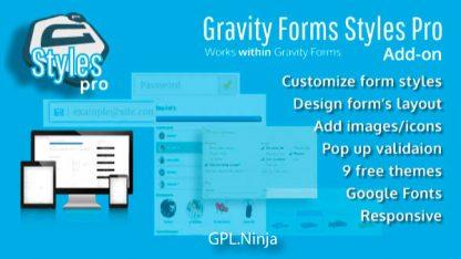 Plugin Gravity Forms Styles Pro