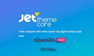 Plugin Jet Theme Core