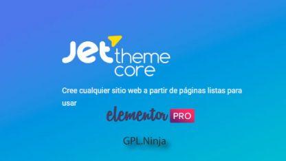 Plugin Jet Theme Core