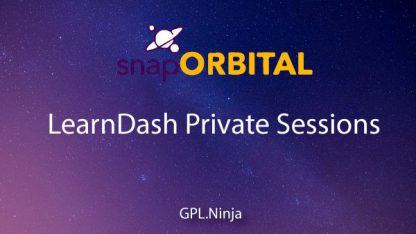 Plugin Learndash Private Sessions