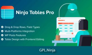 Plugin ninja tables pro