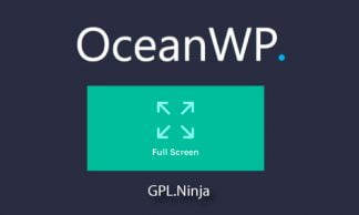 Plugin OceanWP full screen