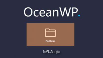 Plugin OceanWP portfolio