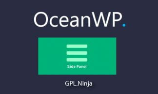 Plugin OceanWP side panel