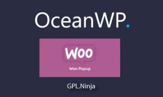 Plugin OceanWP Woo Popup