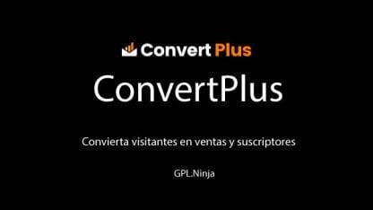 Plugin convert plus
