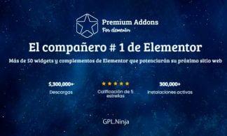 Plugin Premium Addons for Elementor