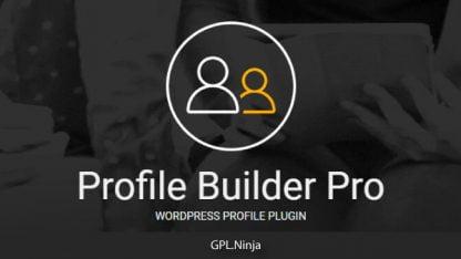 Plugin Profile Builder Pro