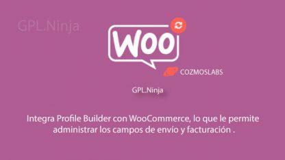 Plugin Woocommerce Profile Builder