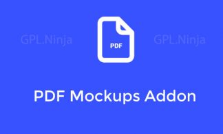 Plugin PDF mockup addon
