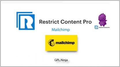 Plugin Restrict Content Pro Mailchimp