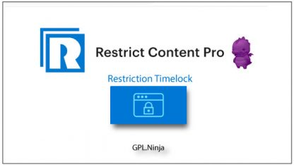 Plugin Restrict Content Pro restriction timelock
