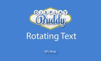 Plugin rotating text