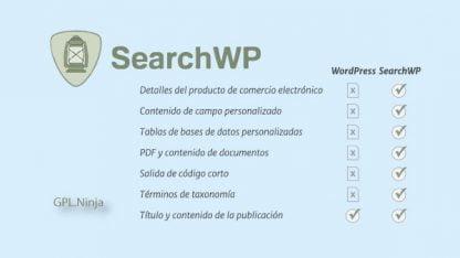 Plugin SearchWP