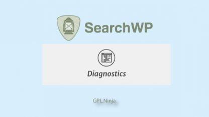 Plugin SearchWP diagnostics