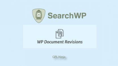 Plugin SearchWP wp document revisions