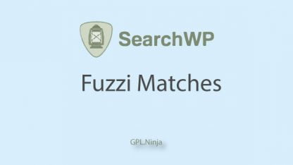 Plugin SearchWP fuzzi matches
