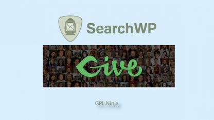 Plugin SearchWP give