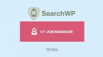 Plugin SearchWP wp job manager