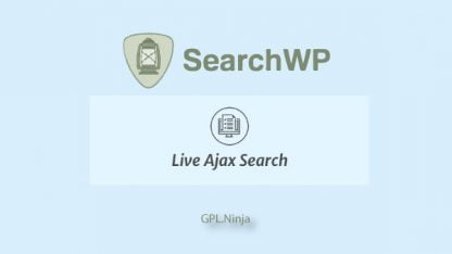 Live ajax search