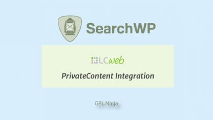 Plugin SearchWP private content Integration