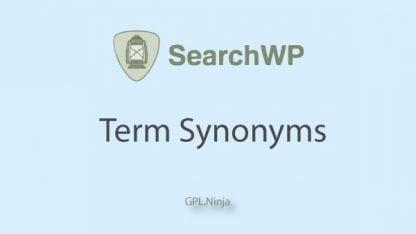 Plugin SearchWP term synonyms