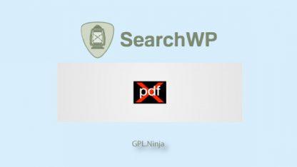 Plugin SearchWP pdf