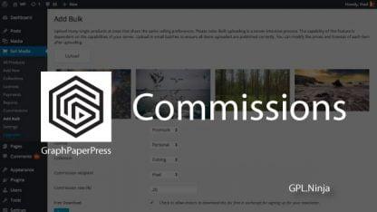 Plugin commissions graphpaperpress