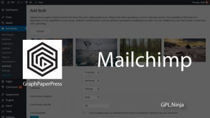 Plugin mailchimp graphpaperpress