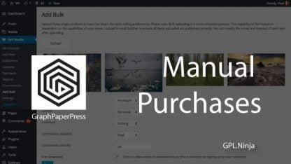 Plugin manual purchases graphpaperpress
