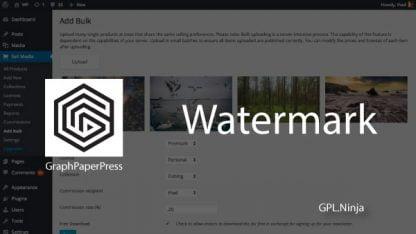 Plugin watermark graphpaperpress