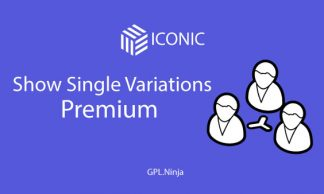 Plugin Show single variations premium