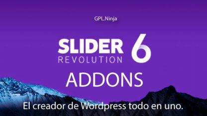 Slider Revolution Addons