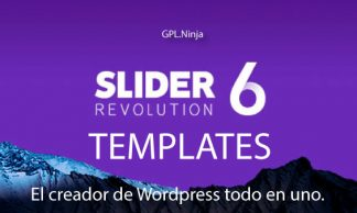 Slider Revolution Templates