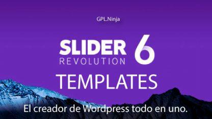 Slider Revolution Templates