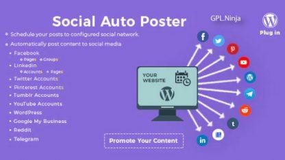 Plugin social auto poster
