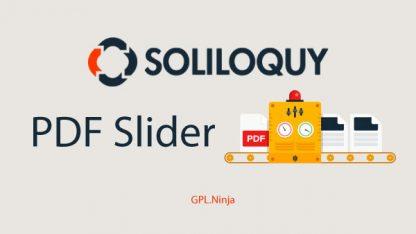 Plugin soliloquy pdf slider