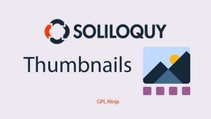 Plugin soliloquy thumbnails
