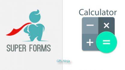 Plugin super forms calculator