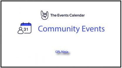 Plugin Community Events