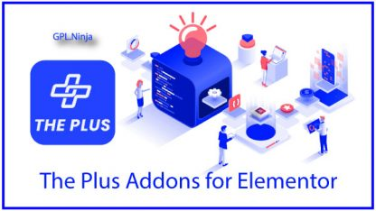 Plugin The plus Addons for Elementor