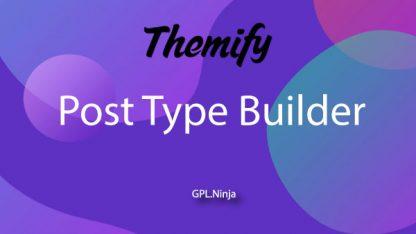 Plugin Post Type Builder