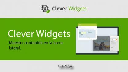 Plugin Clever Widgets